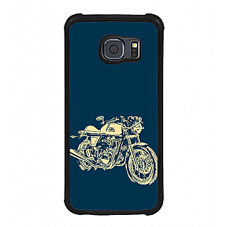 ifasho Fierry Bike Back Case Cover for Samsung Galaxy S6 Edge