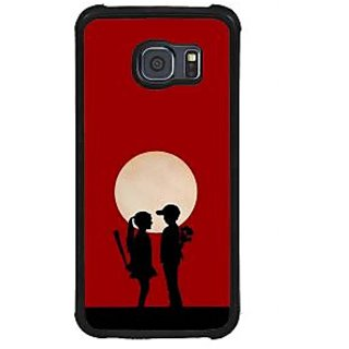 ifasho Boy and girl love Back Case Cover for Samsung Galaxy S6 Edge