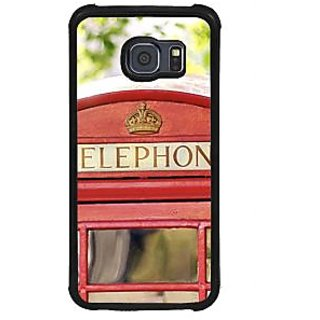 ifasho Telephone booth  Back Case Cover for Samsung Galaxy S6 Edge