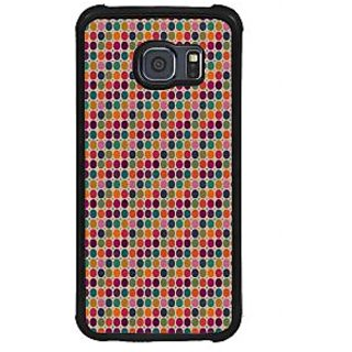 ifasho Animated Pattern  littel and Big colourful Circle Back Case Cover for Samsung Galaxy S6 Edge Plus