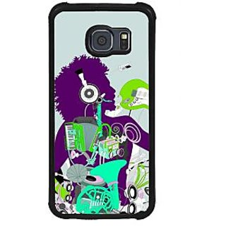 ifasho Boy dancing with music box Back Case Cover for Samsung Galaxy S6 Edge