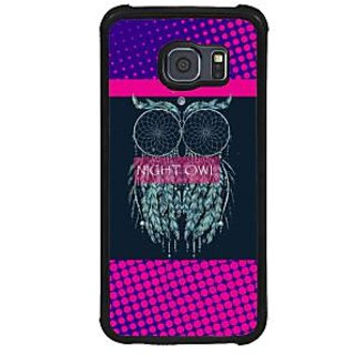 ifasho Stylish Owl Back Case Cover for Samsung Galaxy S6 Edge