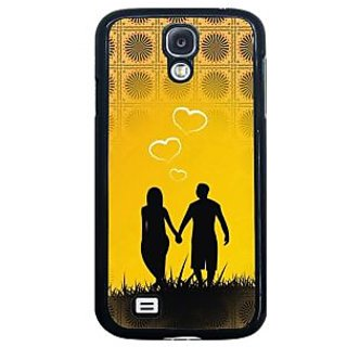 ifasho Boy Holding girls Hand Back Case Cover for Samsung Galaxy S4