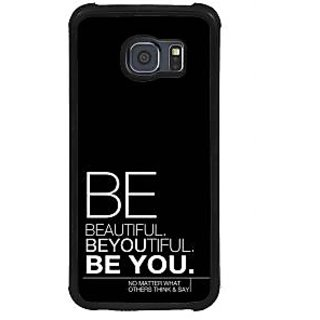 ifasho beautiful qoutes Back Case Cover for Samsung Galaxy S6