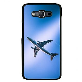 ifasho aeroPlane flying in blue sky Back Case Cover for Samsung Galaxy On 7