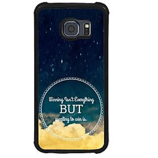 ifasho Life quote Back Case Cover for Samsung Galaxy S6 Edge Plus