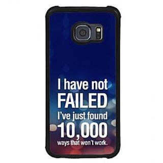 ifasho quotes on success Back Case Cover for Samsung Galaxy S6 Edge Plus