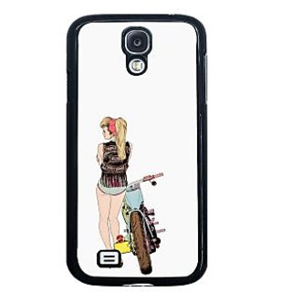 ifasho Girl with bullet Back Case Cover for Samsung Galaxy S4