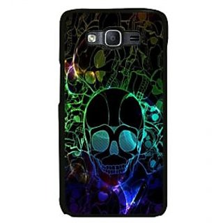 ifasho Modern  Design animated skeleton Back Case Cover for Samsung Galaxy On 7 Pro