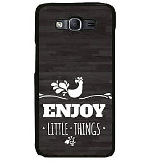 ifasho enjoy little things Back Case Cover for Samsung Galaxy On 7 Pro
