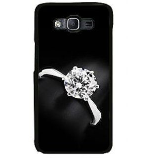 ifasho Engagement Ring Back Case Cover for Samsung Galaxy On 7 Pro
