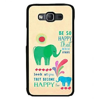 ifasho life Quotes on happiness Back Case Cover for Samsung Galaxy On 7 Pro