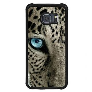 ifasho beautiful Tiger eyes Back Case Cover for Samsung Galaxy S6 Edge