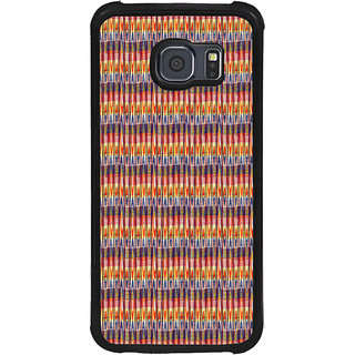 ifasho Animated Pattern of Chevron style pencils arrows Back Case Cover for Samsung Galaxy S6