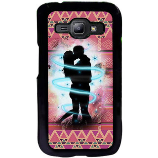 ifasho couple kissing Back Case Cover for Samsung Galaxy J1