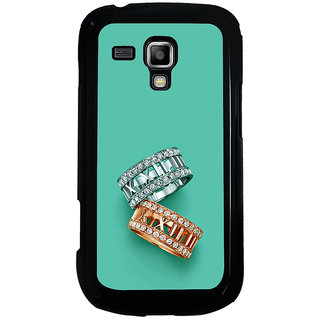 ifasho Engagement Ring Back Case Cover for Samsung Galaxy S Duos S7562