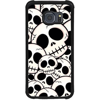 ifasho Modern  Design skeleton Pattern Back Case Cover for Samsung Galaxy S6