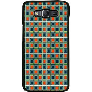 ifasho Colour Full Square Pattern Back Case Cover for Samsung Galaxy On 7 Pro