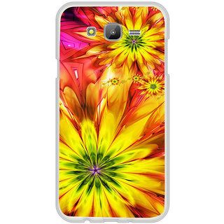ifasho Flower Design multi color Back Case Cover for Samsung Galaxy J7