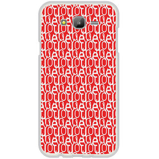 ifasho Modern Art Design Pattern with Lot Of alphabet Back Case Cover for Samsung Galaxy J5