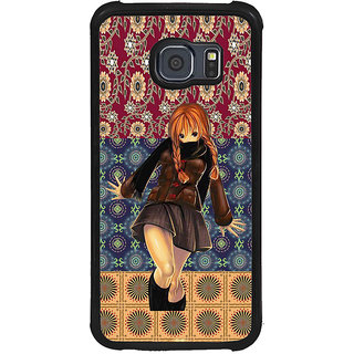 ifasho Dancing girl Back Case Cover for Samsung Galaxy S6 Edge Plus