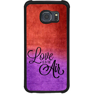 ifasho Love is in the air Back Case Cover for Samsung Galaxy S6 Edge Plus