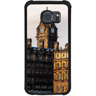 ifasho Historic Place of kolkata Back Case Cover for Samsung Galaxy S6 Edge