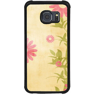 ifasho Animated Pattern colrful traditional design cloth pattern Back Case Cover for Samsung Galaxy S6
