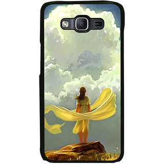 ifasho Girl waiting art work painting Back Case Cover for Samsung Galaxy On 7