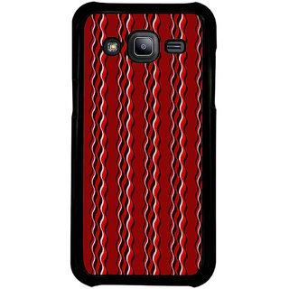 ifasho Design lines pattern Back Case Cover for Samsung Galaxy J2