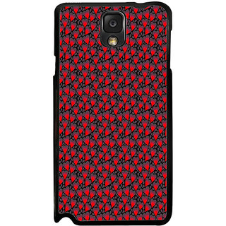ifasho Modern Art Design Pattern with Lot Of small heart Back Case Cover for Samsung Galaxy Note 3