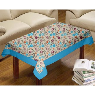 Lushomes Flower Printed Centre Table Cloth