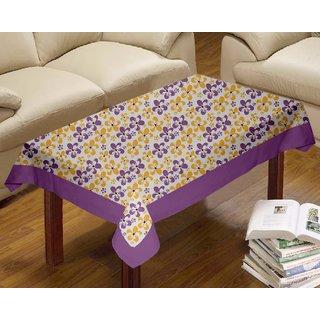 Lushomes Shadow Printed Centre Table Cloth