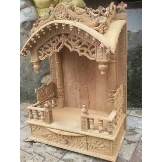 Buy Sagwan Wooden Mandir Online   ₹18000 from ShopClues f238a3361