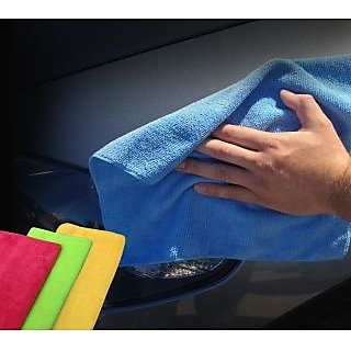 love4ride Microfiber Cloth/ Car Cleaning Cloth - Set of 2