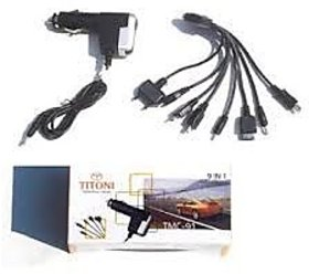 9 In 1 Car Mobile Charger