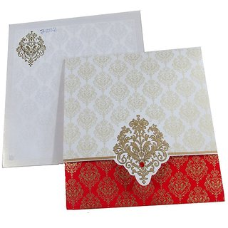 Buy Traditional Wedding Invitations (Pack of 100 Pcs) Online - Get 38% Off