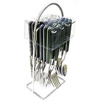 Stainless Steel 24pcs Cutlery Set With Unique Stand