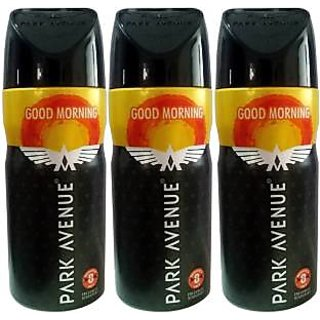 Park Avenue Deodorants 3 Good Morning For Men 150 ml Each
