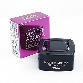 CARALL MASTER AROMA - WHITE MUSK - CAR AIR FRESHENER FRAGRANCE PERFUME