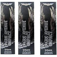 Park Avenue Impact Deodorants 3 Urban 140 Ml Each For Men (Set Of 3)