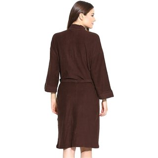 1a2088645d Buy Imported Cotton Bathrobe (Brown) Online - Get 47% Off