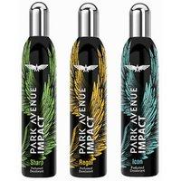 Park Avenue Impact Deodorants Regal, Sharp  Icon 140 Ml Each For Men(Set Of 3)