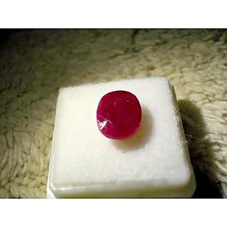 Fedput Natural Ruby / Manak Lab certified 6.44 ratti
