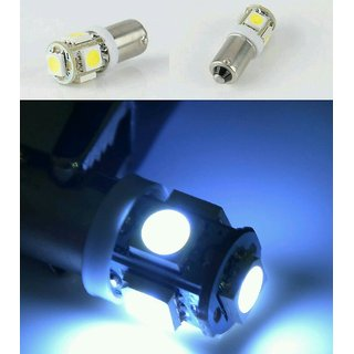 Autozot ENFIELD BULLET WHITE PARKING BULBS 5 SMD 5050
