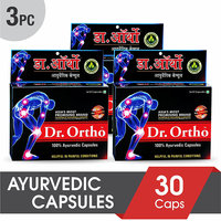 Dr Ortho Ayurvedic Joint Pain Relief Capsules 30Caps (Pack of 3)
