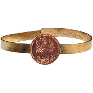 Maa Kalika Adjustable Copper Bangle Bracelet