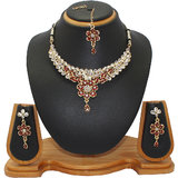 Soni Art Jewellery Kundan fashion jewellery set (0010)
