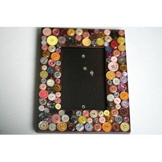 Home Decoration Handmade Button Photo Frame