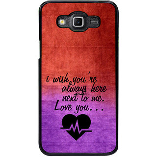 ifasho Love Quote Back Case Cover for Samsung Galaxy Grand 3